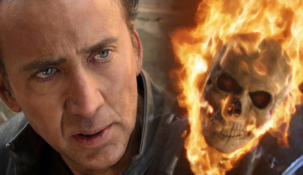 Photo of Nicholas Cage Claims R-rated 'Ghost Rider' Would've Been a Hit Like Deadpool