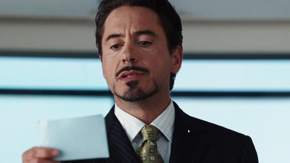 Robert Downey Jr. I am Iron Man