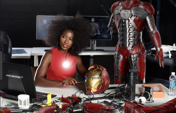 Photo of Will Riri Williams aka Iron Heart appear in Avengers 4?