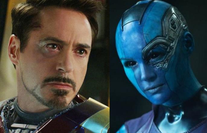 Avengers 4 Iron Man Nebula