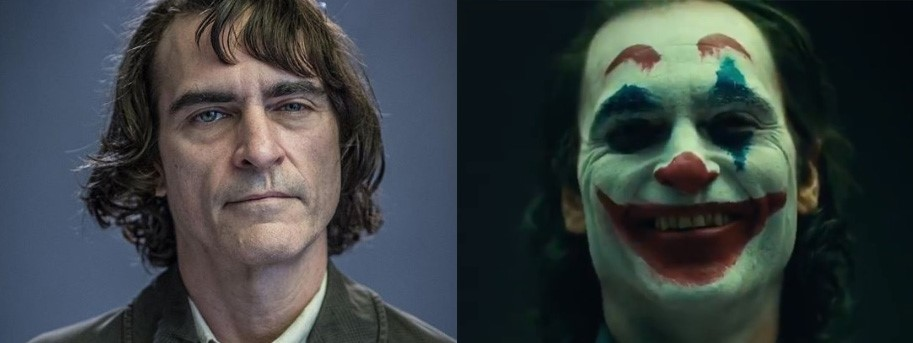 Photo of The First Look at Joaquin Phoenix's Joker with Make Up Revealed