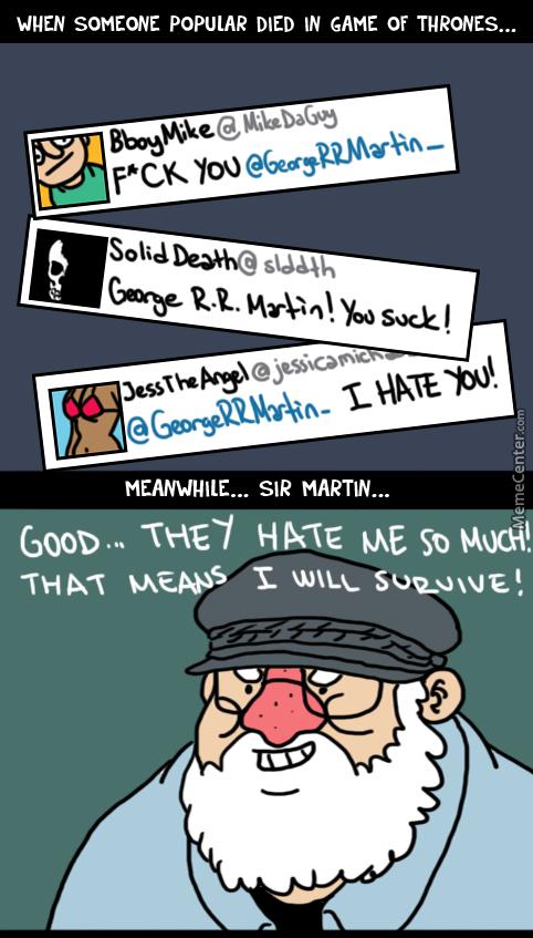 George R. R. Martin Memes