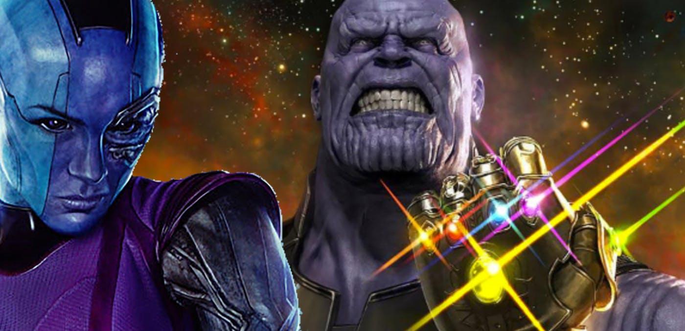 Avengers 4 Thor Thanos