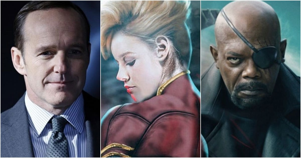 Photo of Captain Marvel: Here's How Fury & Coulson Will Meet For The First Time