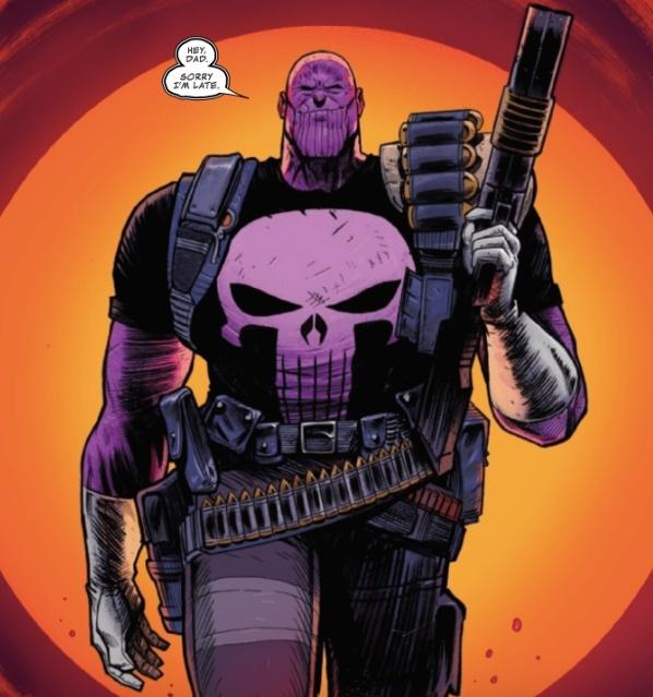 Marvel Comics Update: Cosmic Ghost Rider Reveals Darkest Avatar of Thanos