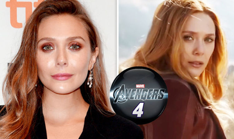 Photo of Elizabeth Olsen Neither Confirms Nor Deny If She is Part of Avengers 4!