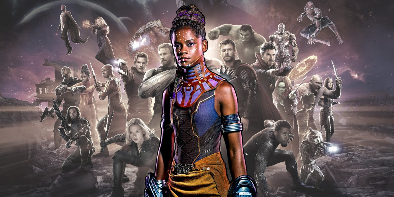 Photo of Letitia Wright's Shuri Returning in Avengers 4 & Black Panther 2