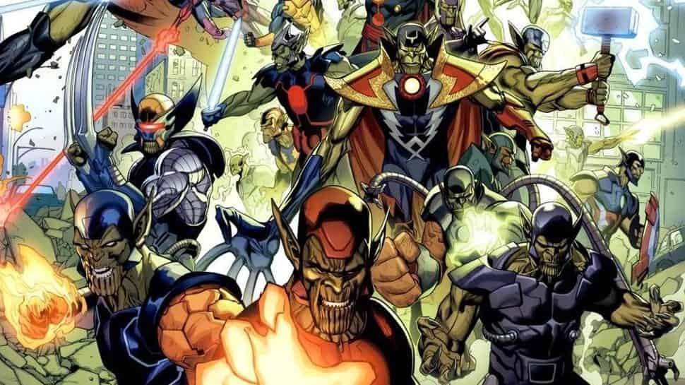 Infinity War Concept Art Skrulls