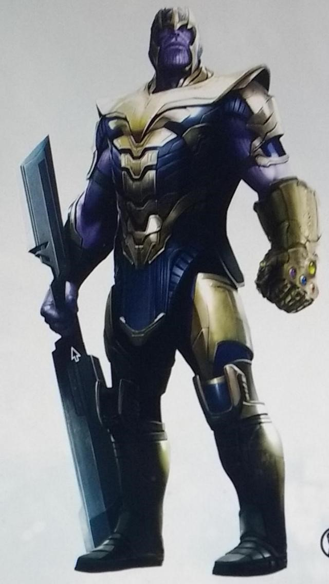 Thanos Will Wear His Armor Again According to Leaked Avengers 4 Promo Art