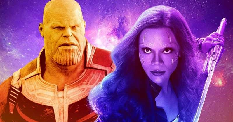 Photo of New Avengers: Infinity War Concept Art Shows Thanos And Young Gamora