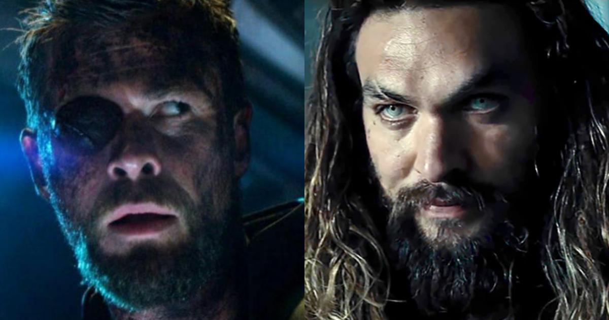Aquaman Chris Hemsworth Marvel DC