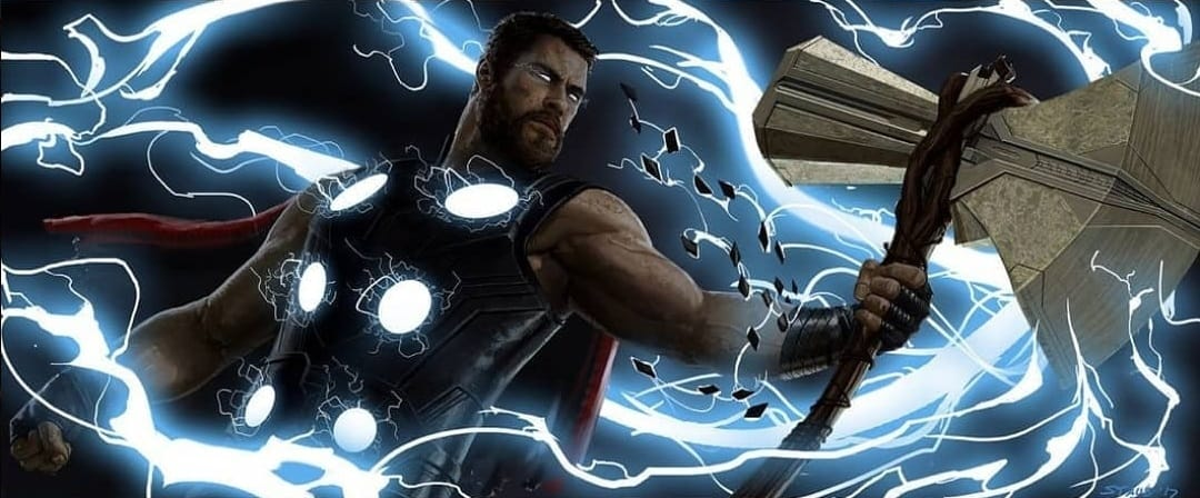Avengers: Infinity War Concept Art Thor Stormbreaker