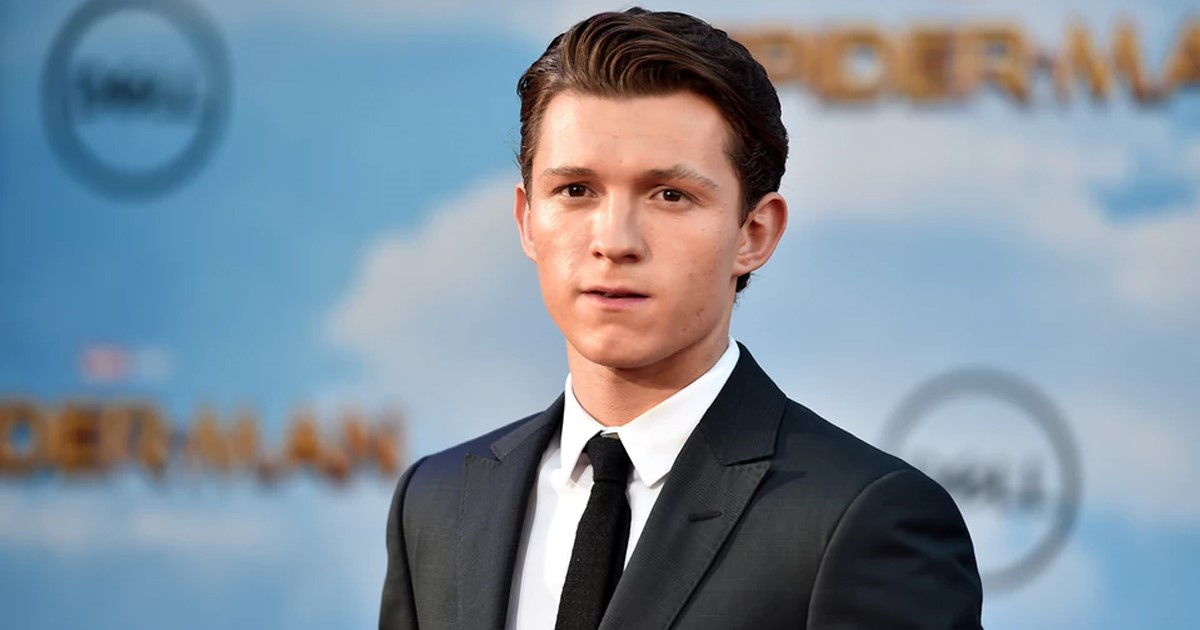 Tom Holland Gay Spider-Man