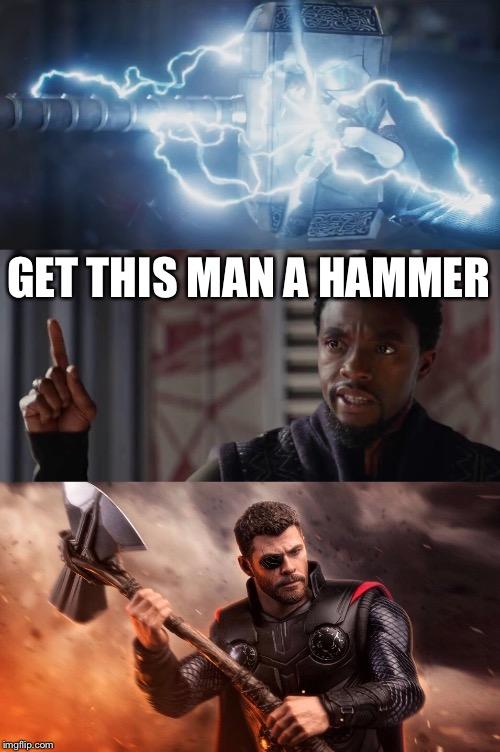 Thor Stormbreaker Memes