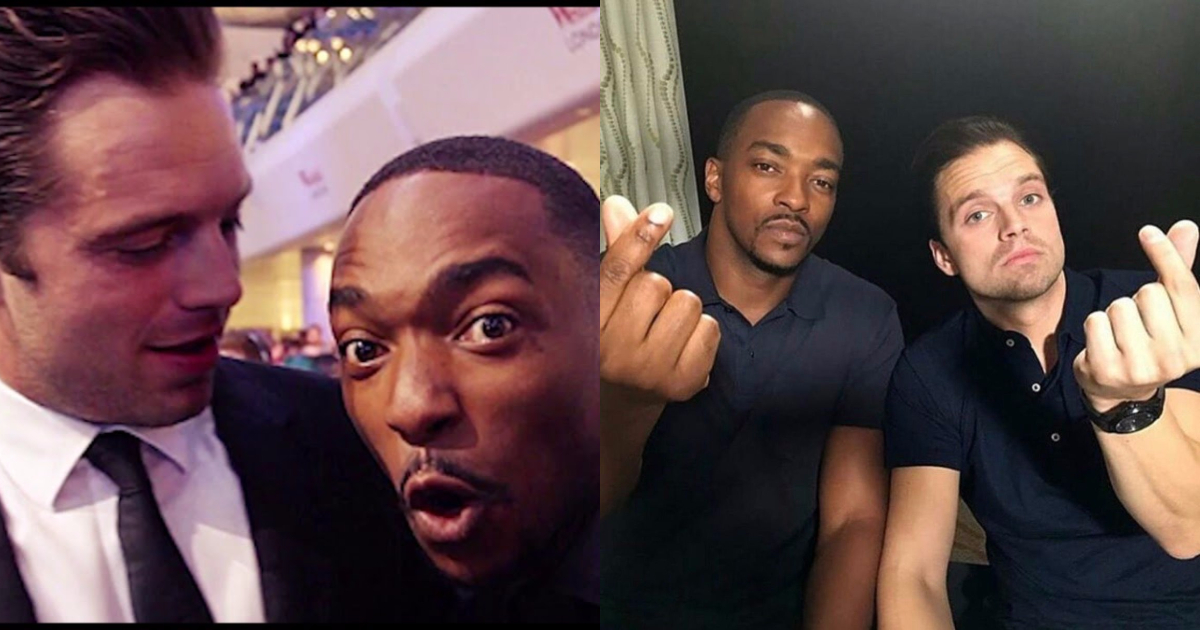 Photo of 25 Awesome Images of Anthony Mackie And Sebastian Stan Together
