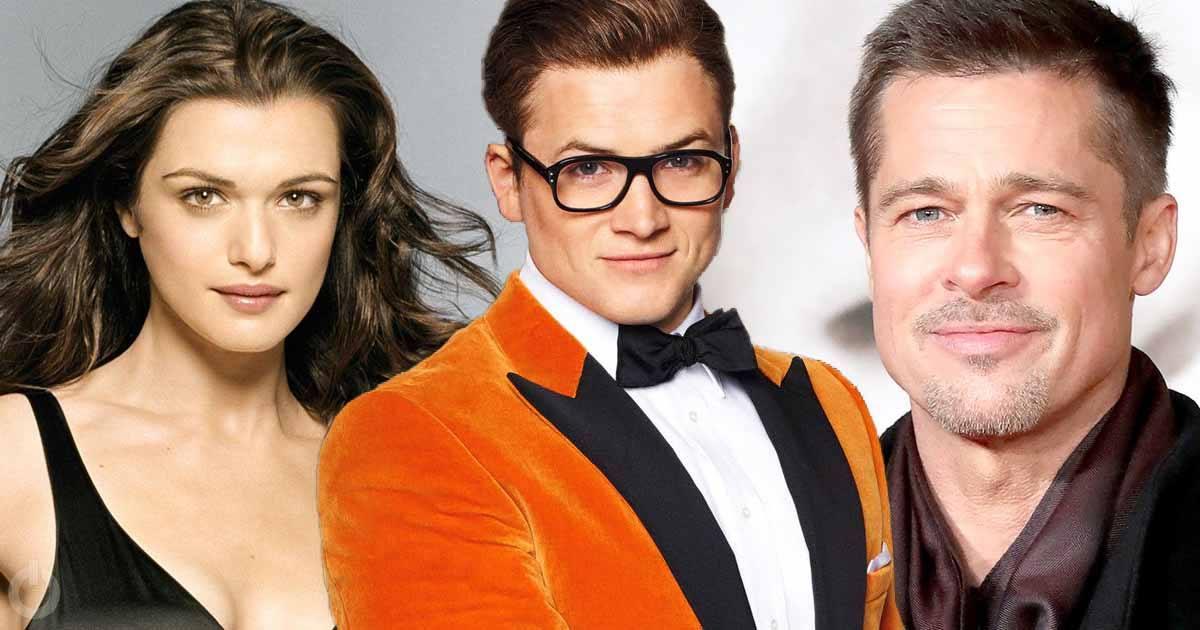 Brad Pitt And Rachel Weisz Kingsman