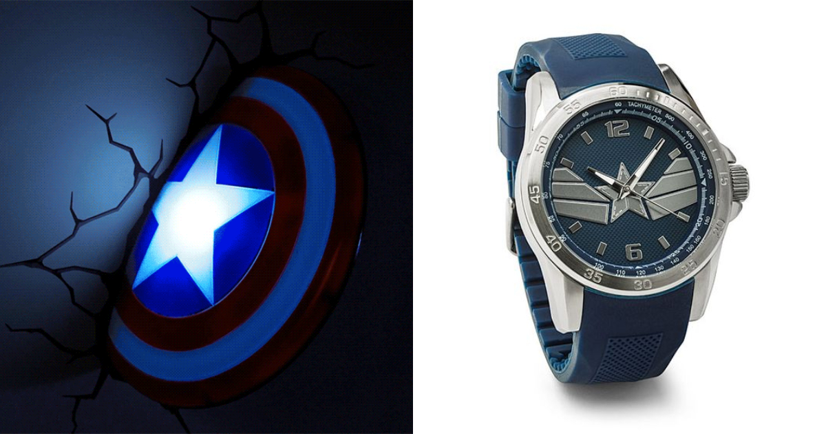 Captain America Themed Products