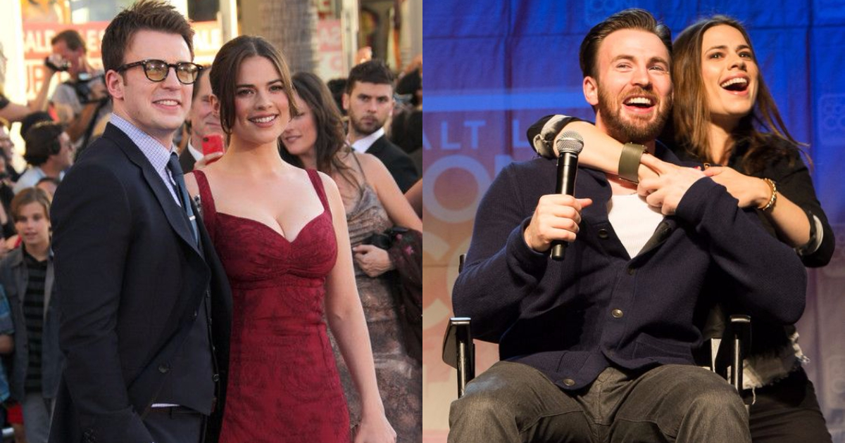 Chris Evans And Hayley Atwell