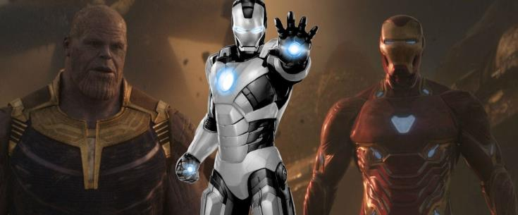 Iron Man Armor Avengers 4