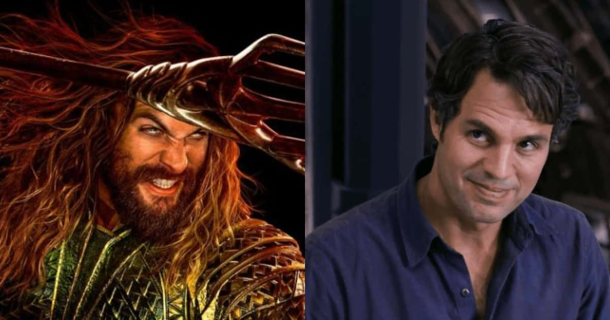 Photo of MCU Star Mark Ruffalo 'Infiltrates' Aquaman to Surprise Jason Momoa
