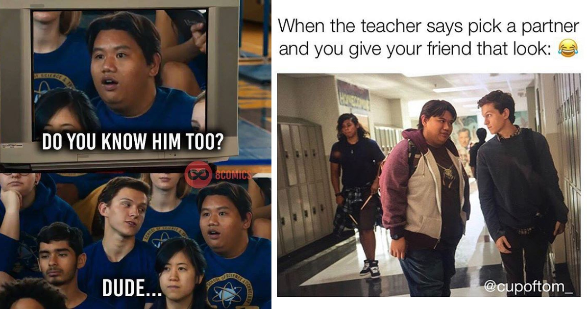 Photo of 30 Funniest Peter Parker And Ned Memes That Will Make You Laugh Hard
