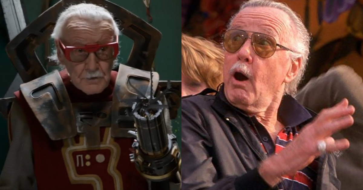 Stan Lee Marvel Cameo GIFs