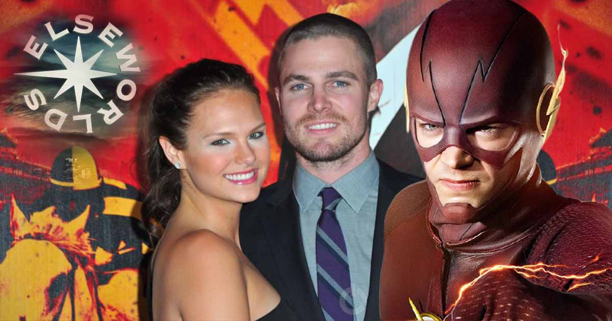 Photo of Arrow Star Stephen Amell Hints Towards a Scene With His Wife in The 'Elseworlds'