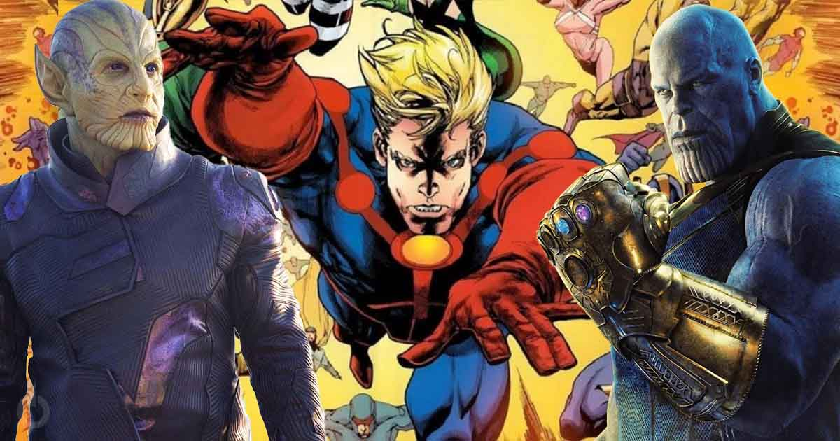 Photo of Eternals Theory – Deviants Were Secretly Introduced By Captain Marvel