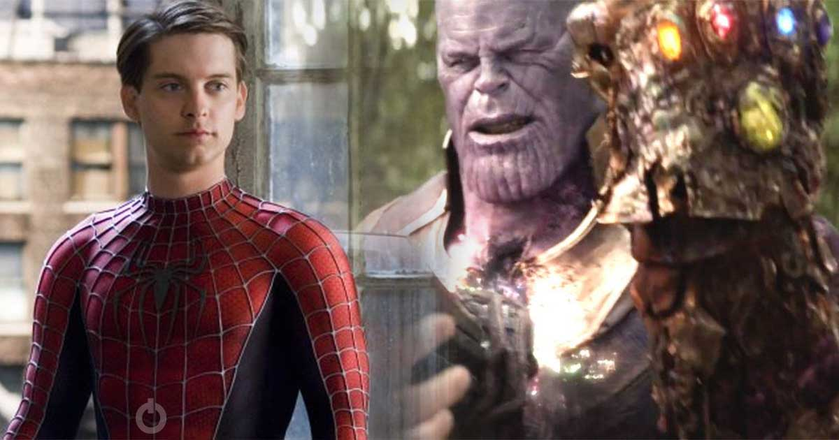 Thanos Snap Infinity War Tobey Maguire