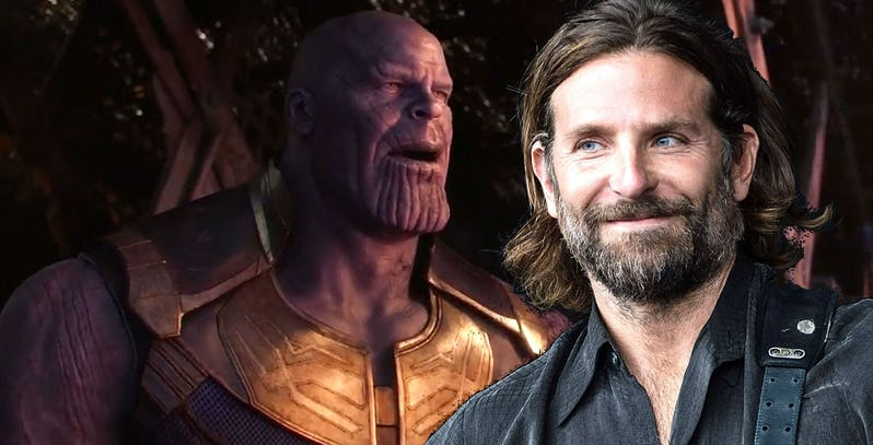 Photo of Bradley Cooper Supports Thanos' Snap in 'Avengers: Infinity War'