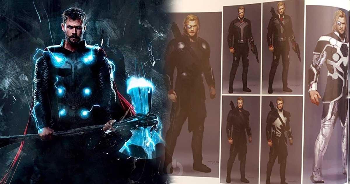 Photo of Avengers: Infinity War Concept Art Reveals Thor's Amazing Weapons Instead of Stormbreaker