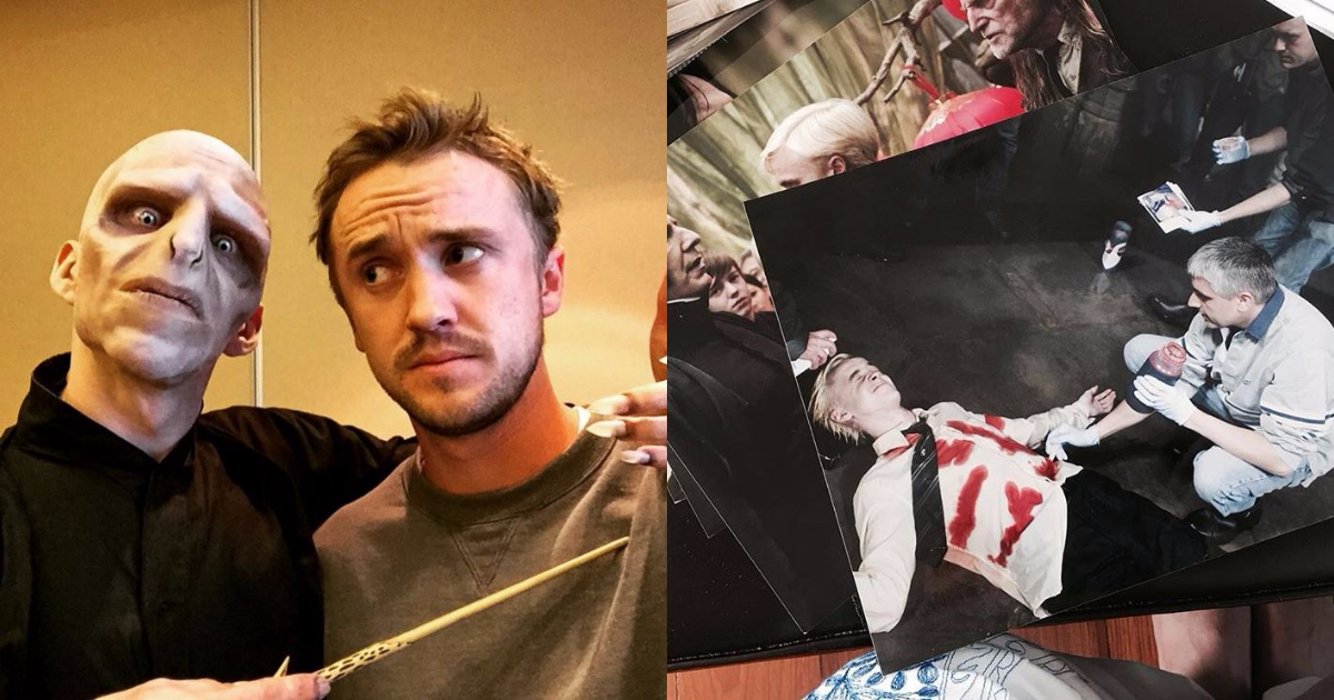 Photo of 27 Times Tom Felton Instagram Images Proved He Loves Harry Potter More Than You