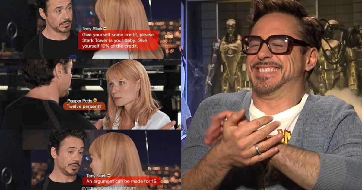 Photo of 25 Adorably Funny Tony Stark And Pepper Potts Memes