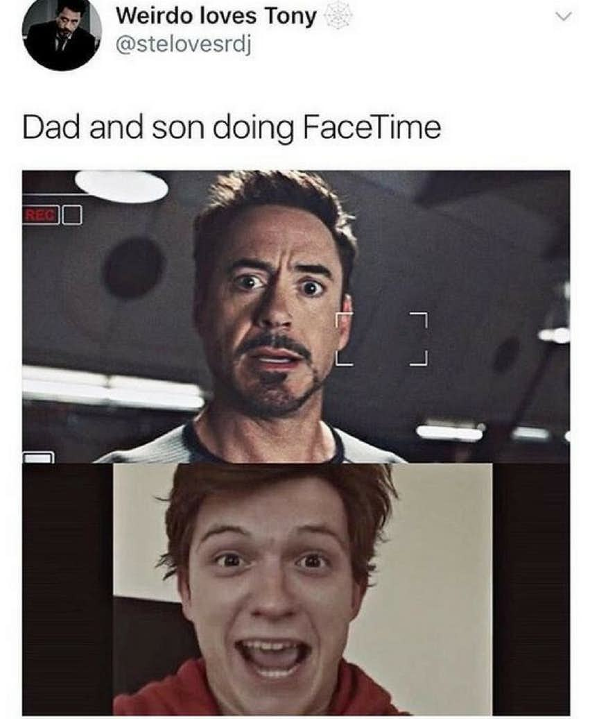 Tony Stark, Steve Rogers And Peter Parker Memes