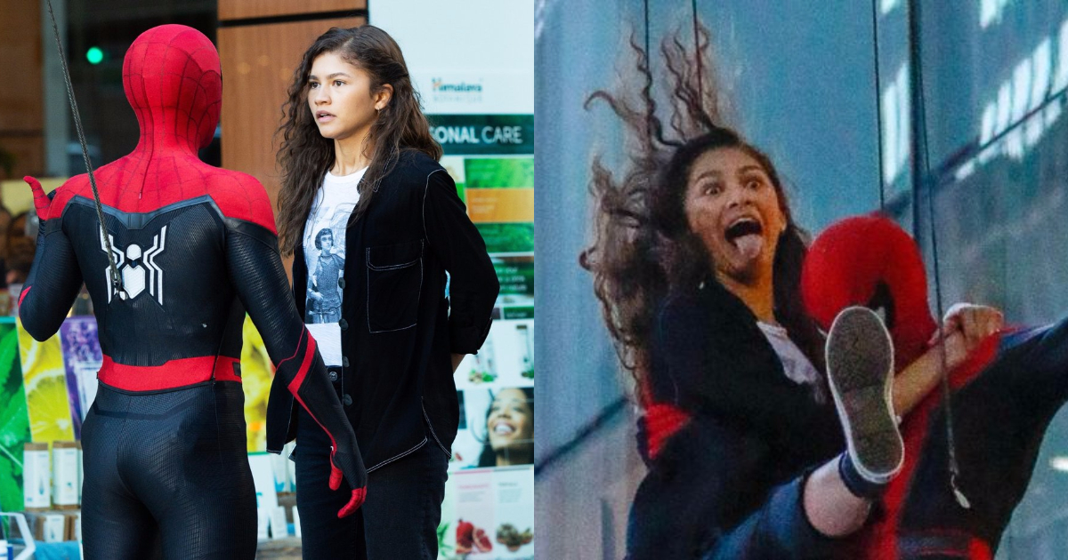 Photo of 30 Awesome Zendaya Spider-Man: Far From Home On-Set Images