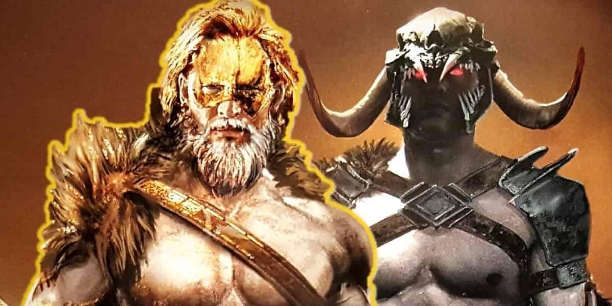 Justice League Ares vs Darkseid
