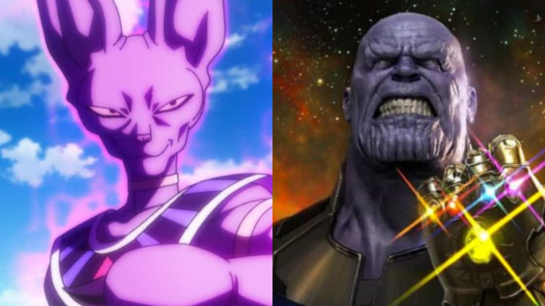 Beerus vs Thanos
