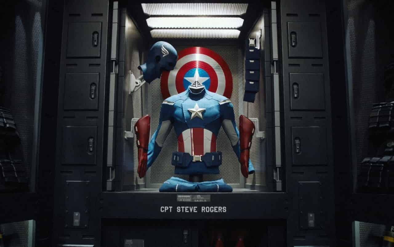 Captain America Suit Chris Evans