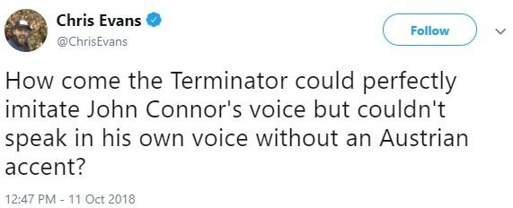 Chris Evans Captain America Terminator Plot Hole