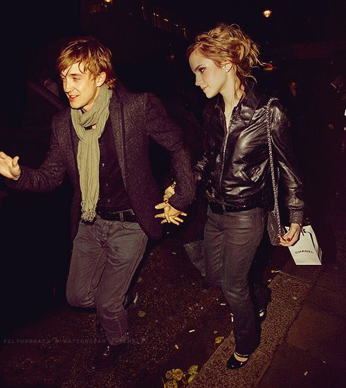 27 Adorable Emma Watson And Tom Felton Fanart Images