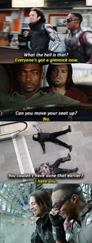 Bucky Barnes And Sam Wilson Memes