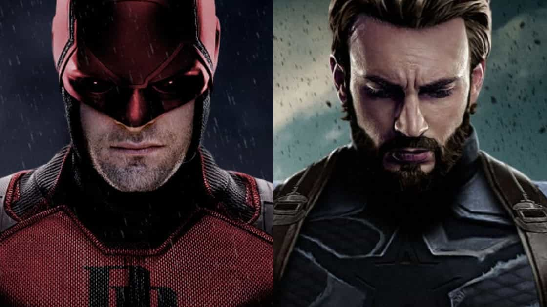 Daredevil vs Captain America