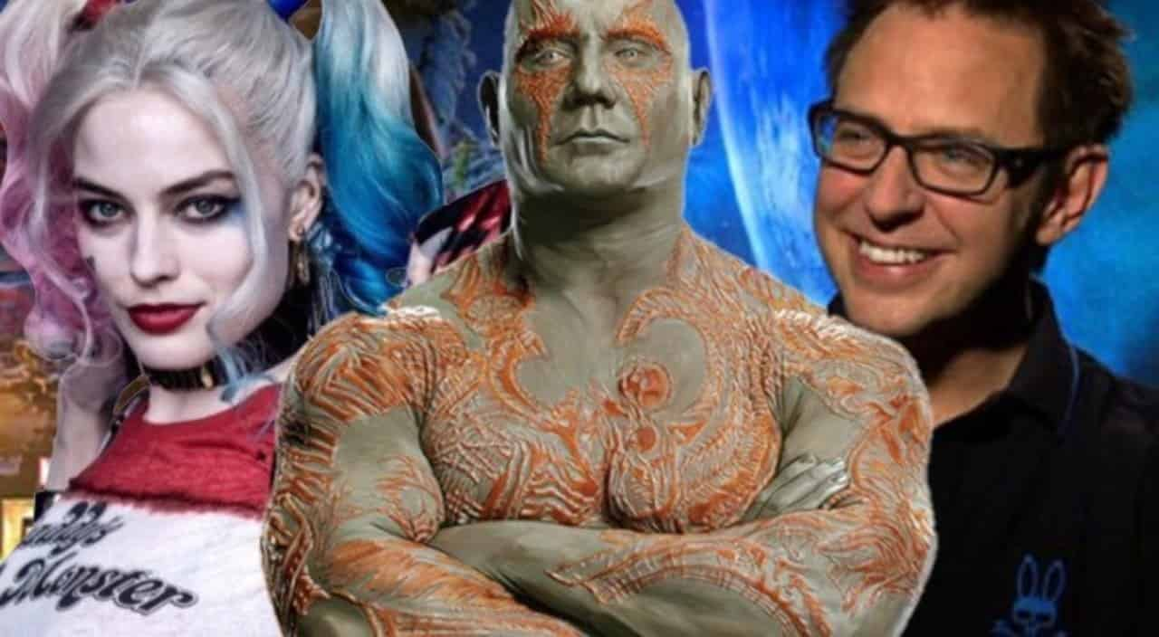 Dave Bautista Drax James Gunn Suicide Squad 2