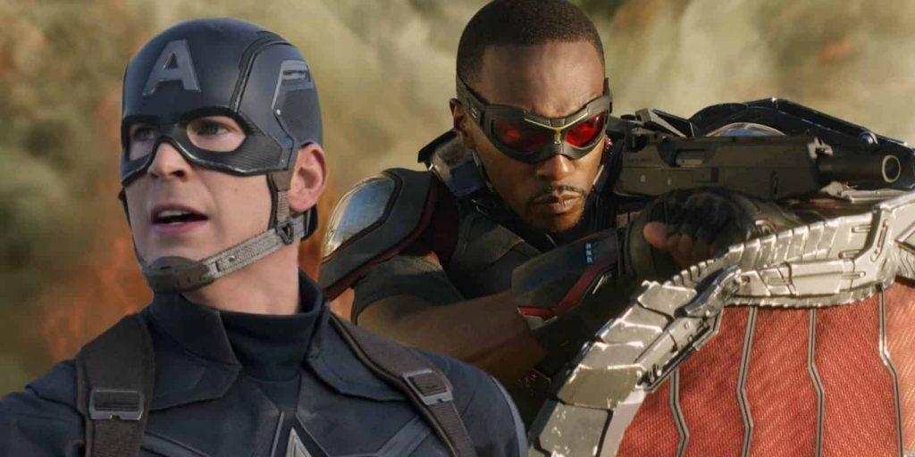 Captain America Falcon MCU