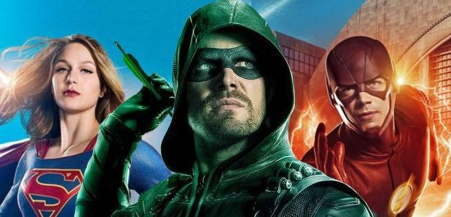 Arrowverse Crossover Stephen Amell