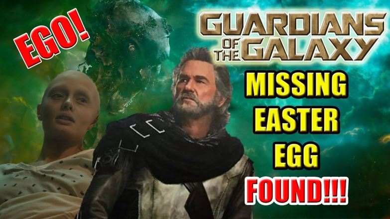 Guardians of the Galaxy Easter Egg
