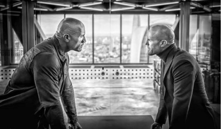 Hobbs and Shaw Dwayne Johnson