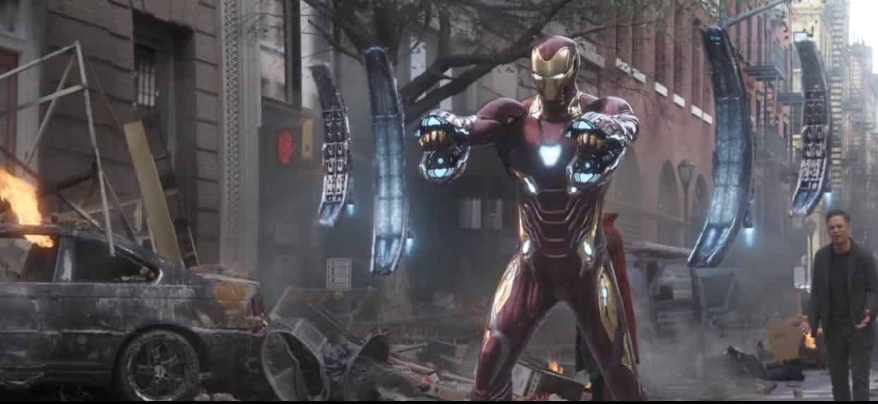 New Iron Man Suit Avengers 4