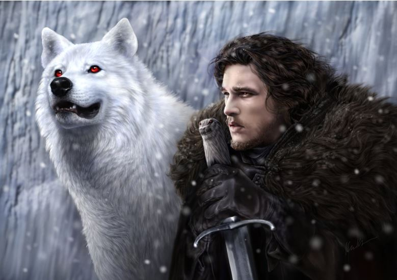 Jon Snow Ghost Westeros