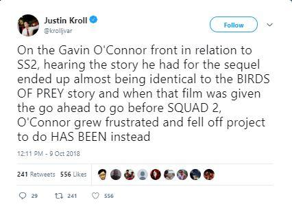 James Gunn Suicide Squad 2 MCU